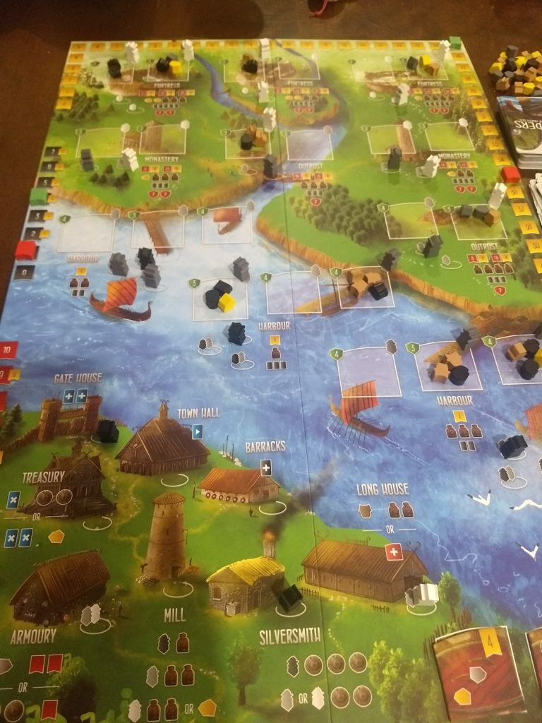 Raiders of the North Sea Board